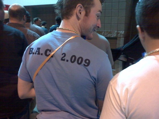 BAC Tshirt at Great American Beer Festival