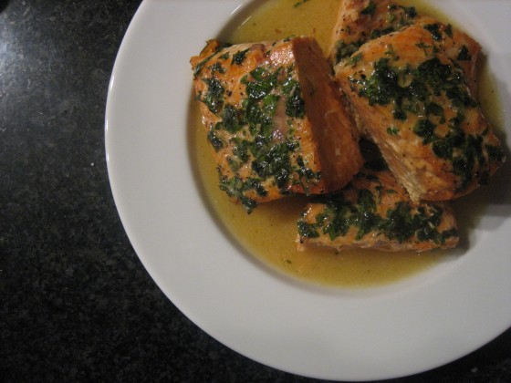 Salmon with Citrus Vinaigrette