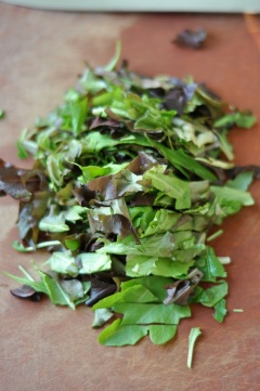 Pan-Fried Chicken Salad with Honey Mustard Dressing 6